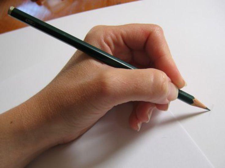 Традиционный способ, щепотка или для письма