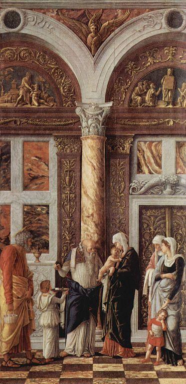 Принесение во храм. А. Мантенья, ок. 1460