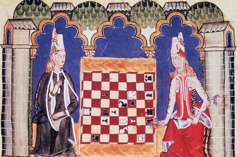 Две испанские дамы играют в шахматы