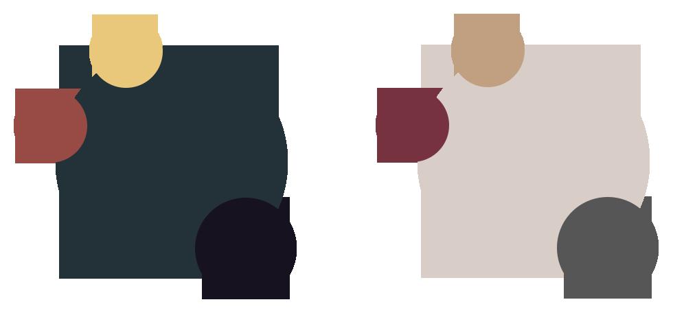 Примеры цветовых палитр