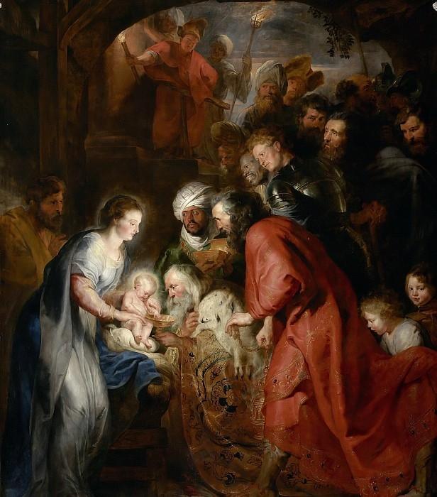 Поклонение волхвов. Питер Пауль Рубенс. Мехельн, Церковь св. Иоаннов, 1616