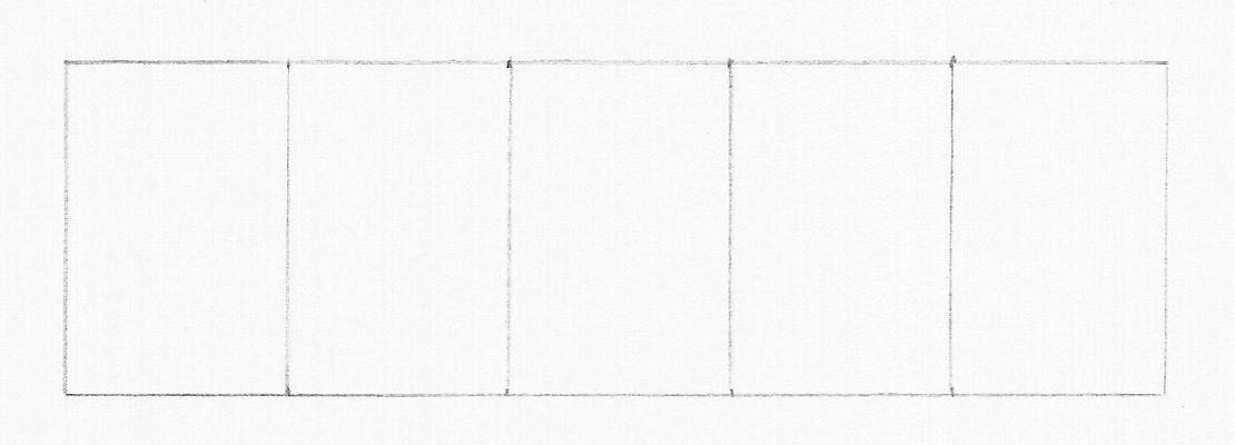 Рисуем тональную шкалу. Этап 1