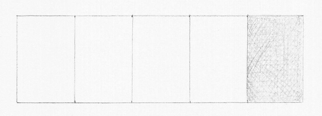 Рисуем тональную шкалу. Этап 2