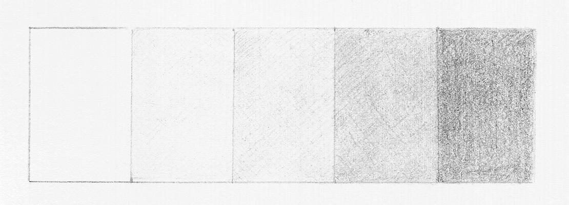 Рисуем тональную шкалу. Этап 3