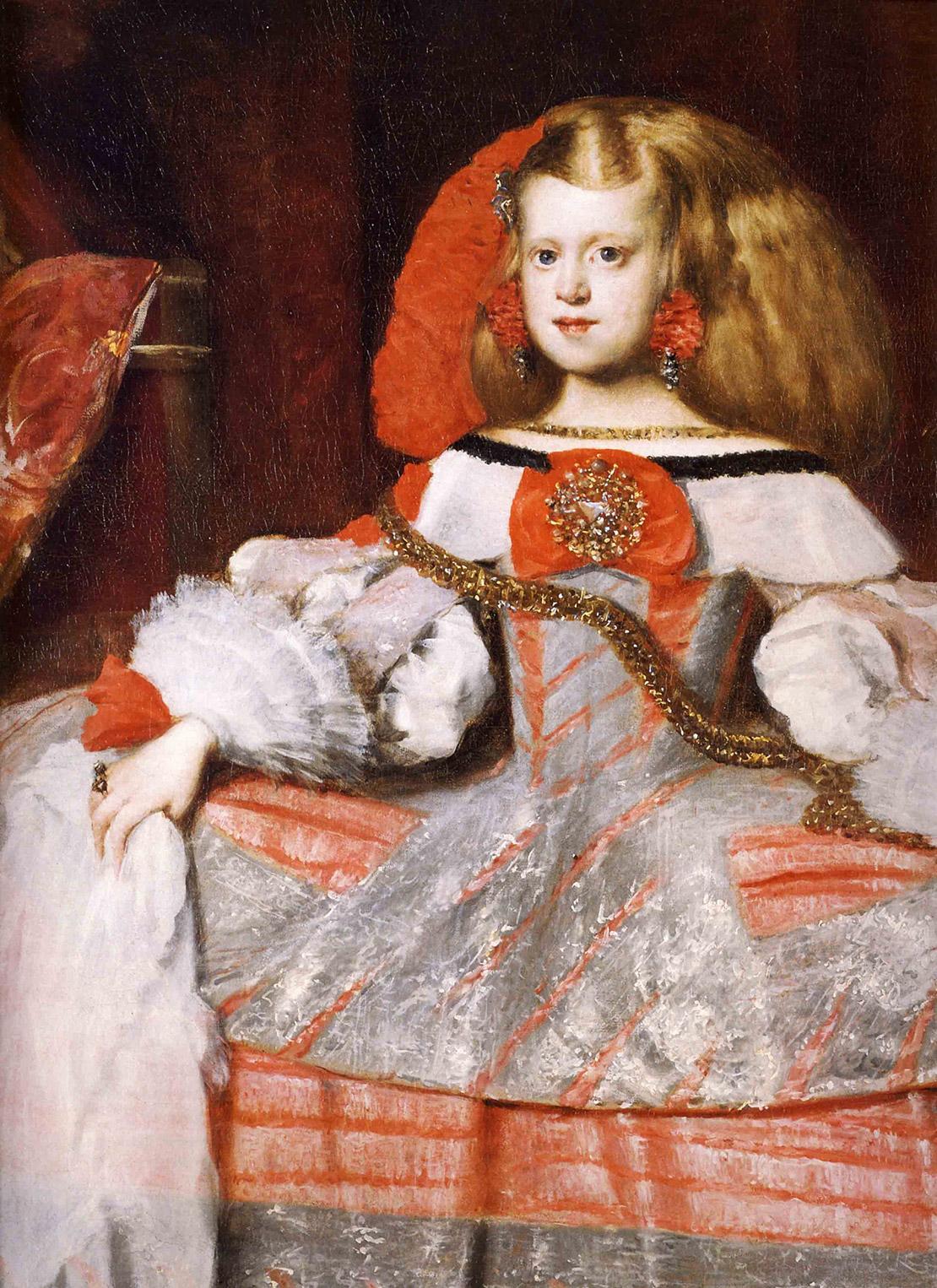 Портрет инфанты Маргариты. Диего Веласкес, 1659. Холст, масло