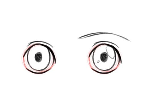 Как нарисовать глаза. Аниме