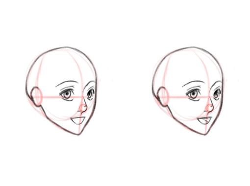 Как нарисовать рот. Аниме