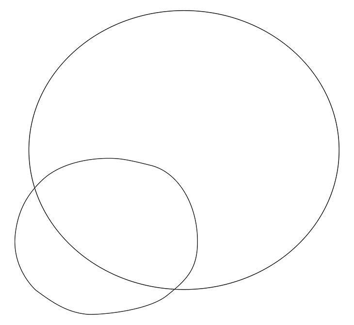 Как нарисовать божью коровку. Шаг 1. Рисуем голову и тело