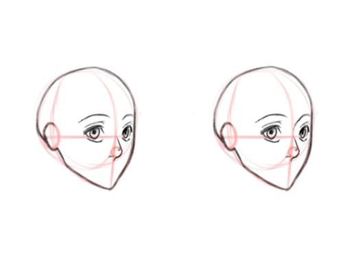 Как нарисовать нос. Аниме